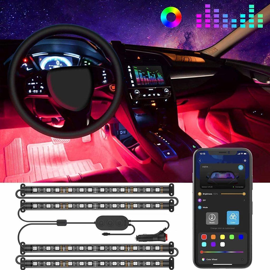 luces led para coche bazar chino