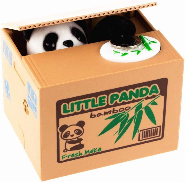 monedero con diseño panda bazar chino