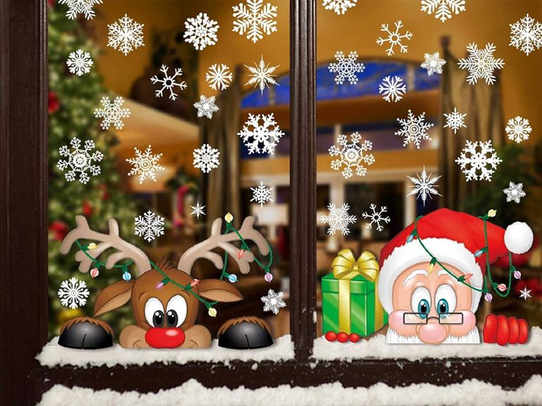 pegatina navidad bazar chino
