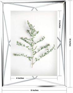 marco de foto bazar chino gris