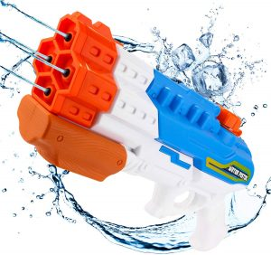 pistola agua multiple bazar chino