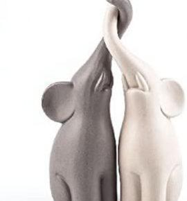 Dos Elefantes Conjunto bazar chino