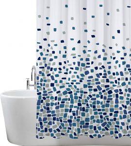 cortina de baño bazar chino
